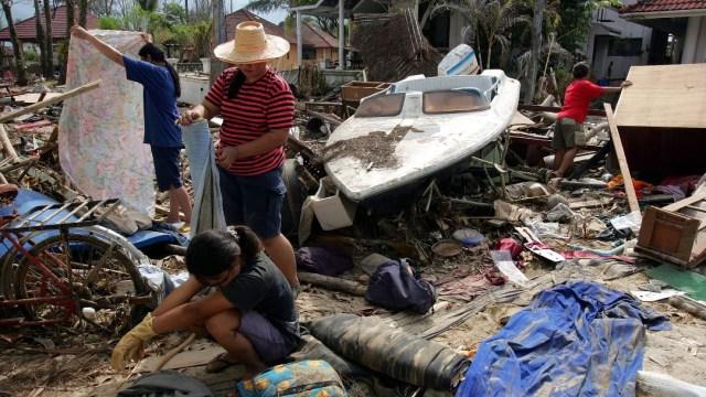 Foto: A 15 años del tsunami en Tailandia, cientos de víctima no han sido identificadas