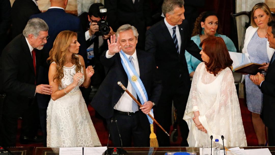 FOTO Alberto Fernández asume como presidente de Argentina (Reuters)