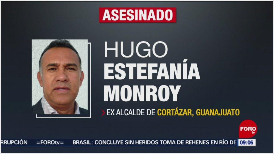 Imagen: Hugo Estefanía Monroy fue asesinado la noche del sábado, 1 de diciembre de 2019 (Foro TV)