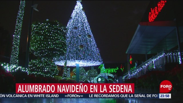 Foto: Alumbrado Navideño Sedena 2019 23 Diciembre 2019