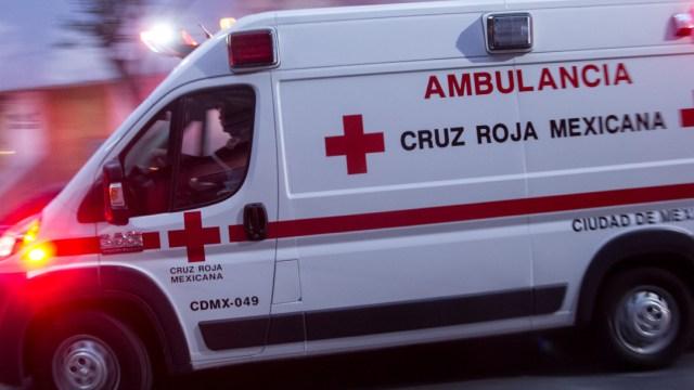FOTO: Ambulancia de la Cruz roja, el 28 de diciembre de 2019