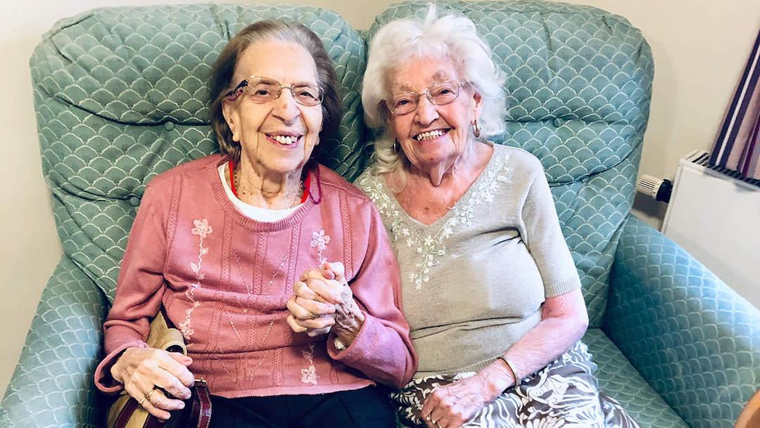 Foto Tienen 89 años, son amigas desde los 11 y se mudaron a la misma casa de retiro 11 diciembre 2019