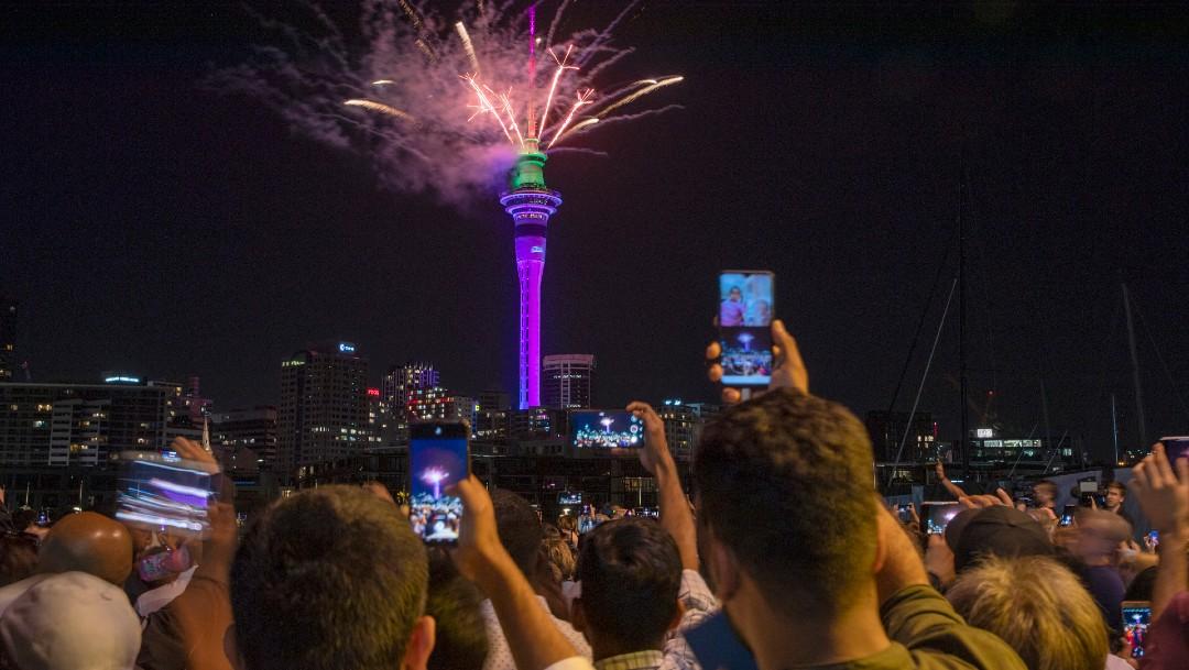 FOTO Año Nuevo 2020 en Auckland, Nueva Zelanda (Getty Images)