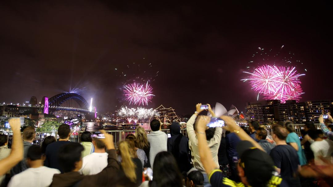 FOTO Fotos y videos de festejos del Año Nuevo 2020 en el mundo (EFE)