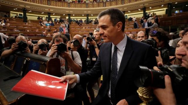 Foto: Rey de España designa a Pedro Sánchez como candidato a presidente, 11 de diciembre de 2019 (AP, archivo)