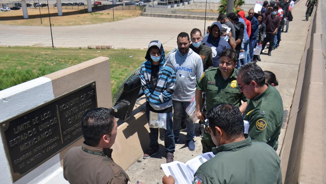 Foto: EEUU regresa a México a venezolanos que piden asilo en Arizona, 6 de diciembre de 2019, (AP, archivo)