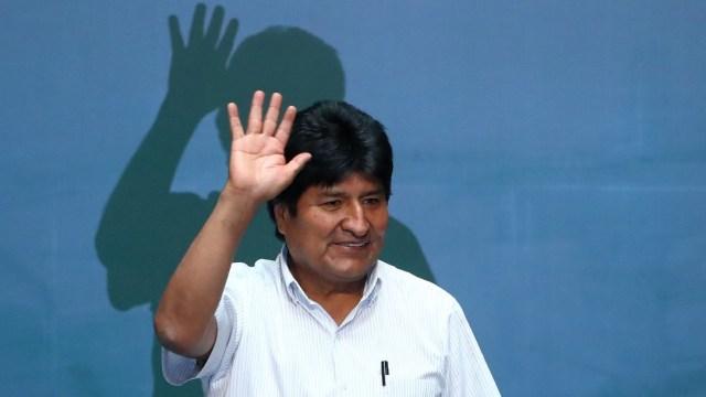 FOTO: Argentina confirma estatus de refugiado a Morales, lo que impide extradición, el 18 de diciembre de 2019