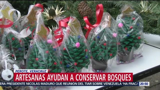 Foto: Artesanas Veracruz Ayudan Conservación Bosques 3 Diciembre 2019