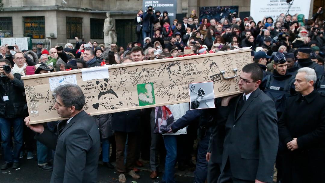 Foto: Atentado contra Charlie Hebdo, en París