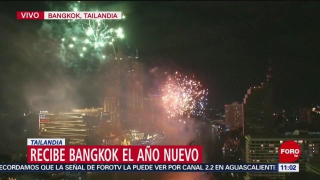 Foto: bangkok capital de tailandia recibe el ano nuevo
