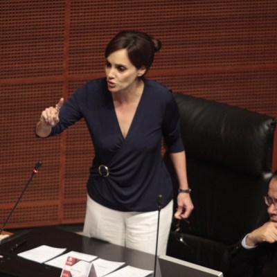 Comisión de Morena resuelve separar a Lilly Téllez de su bancada en el Senado