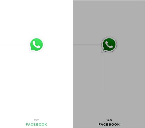 WhatsApp Pantalla de Bienvenida