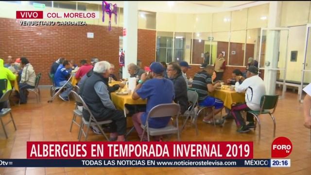 Foto: Cdmx Habilita Albergues Temporada Invernal 18 Diciembre 2019