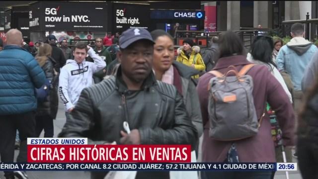 Foto: Cifras Históricas Ventas Fiestas Navideñas Estados Unidos 3 Diciembre 2019