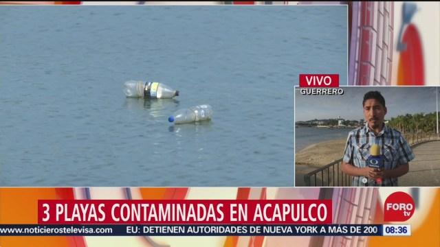 cofepris cuatro playas en mexico estan contaminadas