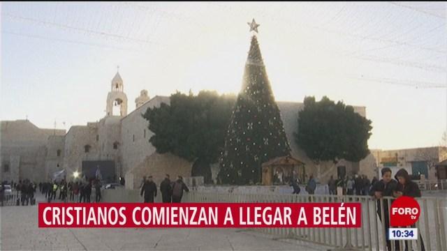 comienzan festividades navidenas en belen cisjordania