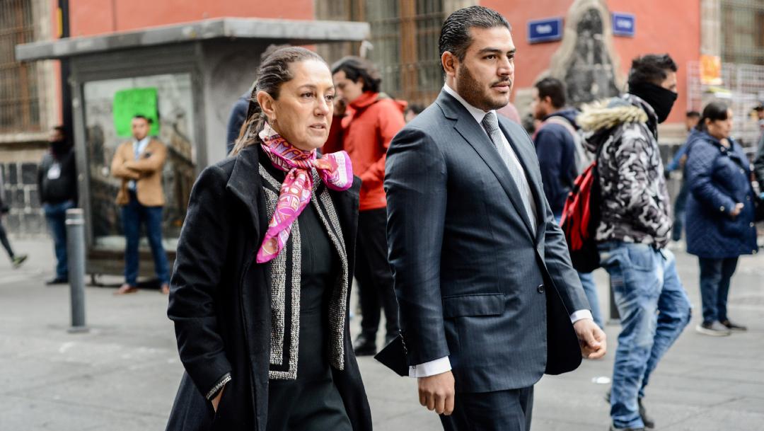 Harfuch niega vínculos con Genaro García Luna, 19 de diciembre de 2019, (ROGELIO MORALES /CUARTOSCURO.COM)