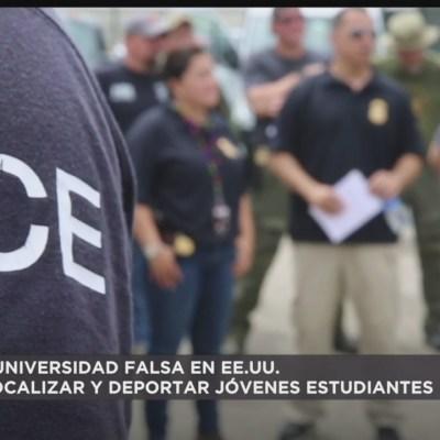 Crean universidad falsa en EEUU para localizar a jóvenes migrantes