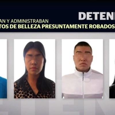 Foto: En el lugar fueron detenidas tres mujeres y un hombre, quienes, presuntamente, compraban y administraban estos productos, cuyo valor comercial legal supera los cinco mil pesos