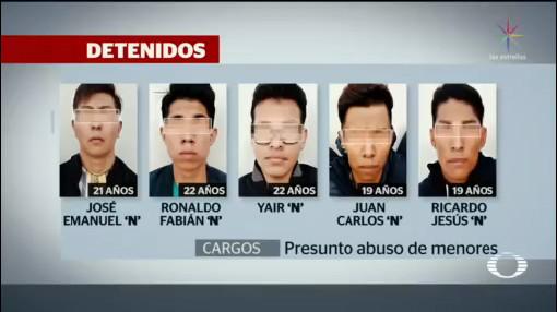 Foto: Detienen Cinco Presunto Abuso Sexual Guadalajara 4 Diciembre 2019