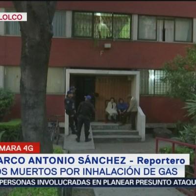 Dos personas mueren por intoxicación de monóxido de carbono en Tlatelolco