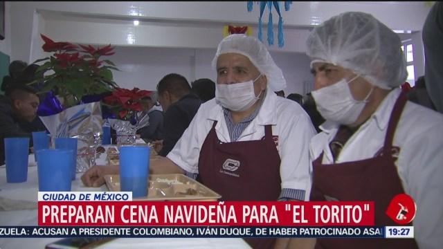 Foto: Torito Prepara Cena Navidad 2019 23 Diciembre 2019