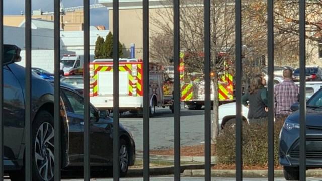 Foto: Reportan tiroteo dentro centro comercial en Atlanta, 14 de diciembre de 2019 (Twitter @cobbcountygovt)