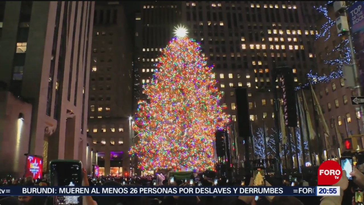Foto: Rockefeller Center Arbol Navidad 5 Diciembre 2019