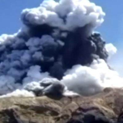 FOTO Mueren 5 por erupción del volcán Whakaari durante excursión (Reuters)