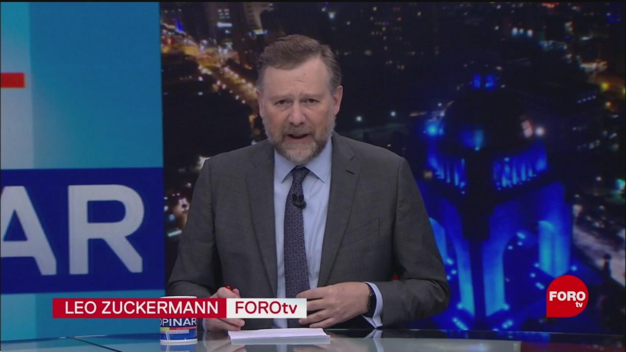 Foto: Hora Opinar Leo Zuckermann Fortov Programa Completo 5 Diciembre 2019