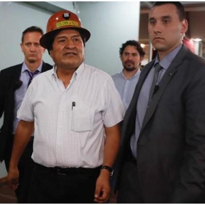 Evo Morales acusa posible fraude en próximas elecciones en Bolivia