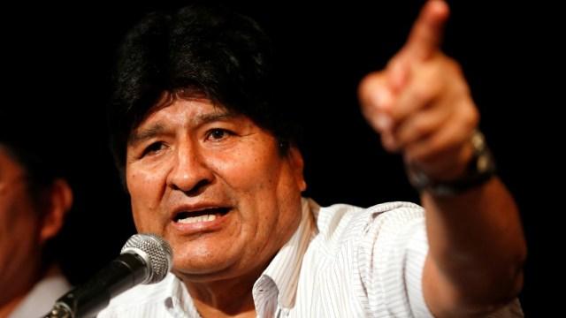 Foto: Fiscalía de Bolivia emite orden de aprehensión contra Evo Morales