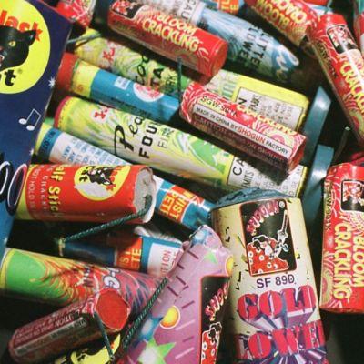 Foto: Varios tipos de cohetes artesanales. Getty Images/Archivo