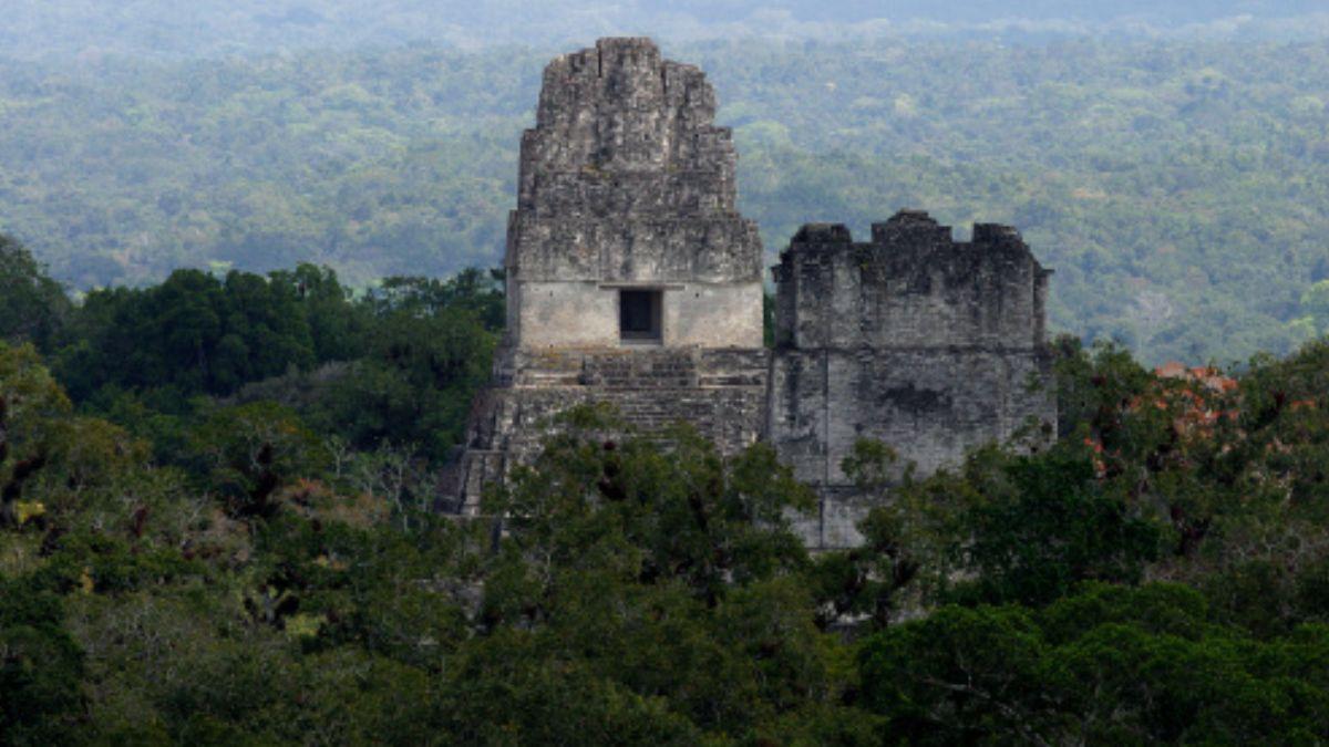 Foto: Ruinas mayas en la selva de Guatemala. Getty Images