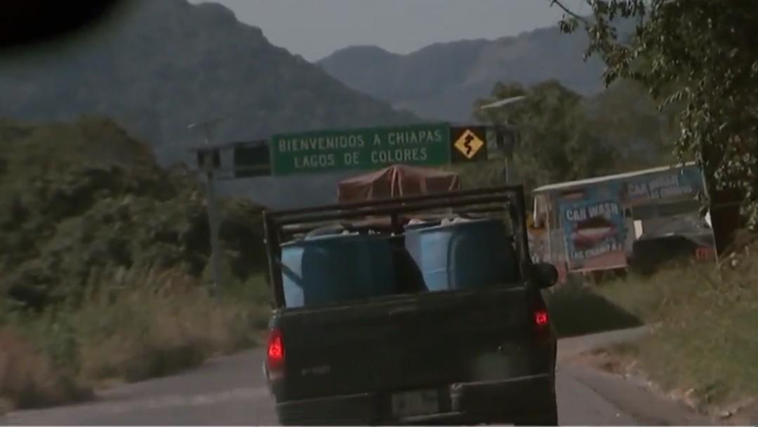 Foto: Gasolineras de Chiapas, afectadas por tráfico ilegal de combustible