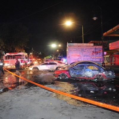Controlado, incendio en el mercado de La Merced; hay un muerto