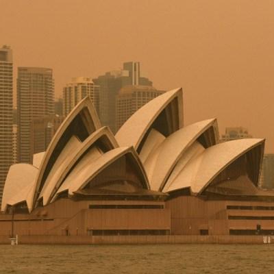 Incendios en Australia cubren Sídney con un denso manto de humo