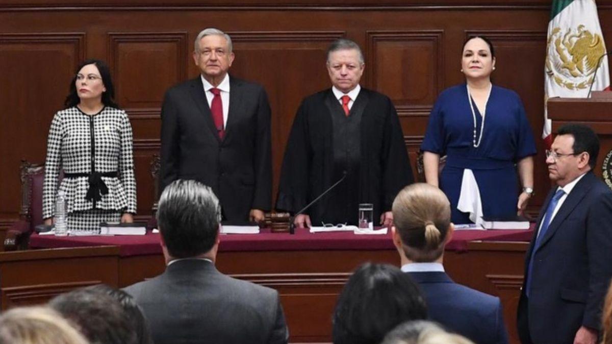 Informe de labores del ministro Arturo Zaldívar