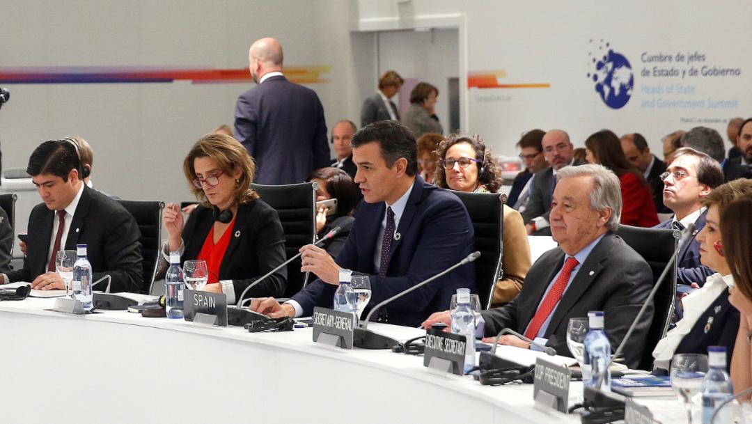 FOTO Inicia en Madrid la Cumbre del Clima COP25 (EFE)