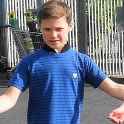 Jack Burns, bailarín de 14 años.