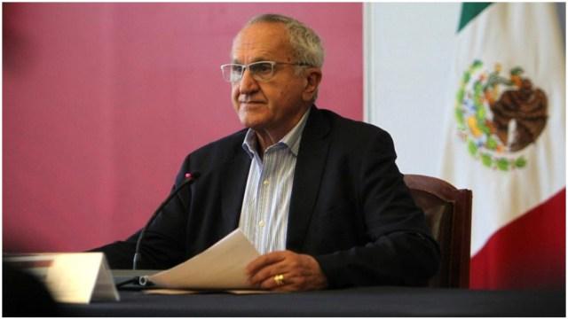 Imagen: Jesús Seade defiende papel de México en el T-MEC, 15 de diciembre de 2019 (EFE)