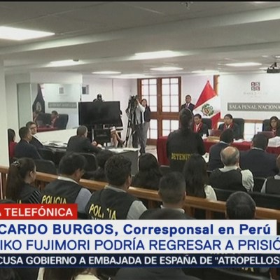 Keiko Fujimori podría regresar a prisión en Perú