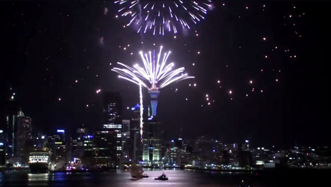 Foto: Kiribati, Samoa y Australia, los primeros países en saludar el 2020