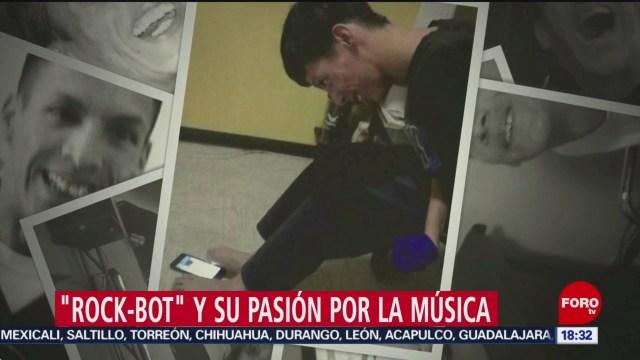 FOTO: Parálisis Cerebral Rock-Bot No Le Impide Crear Propia Música,