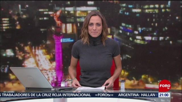 Foto: Las Noticias Ana Francisca Vega Programa Completo Forotv 5 Diciembre 2019