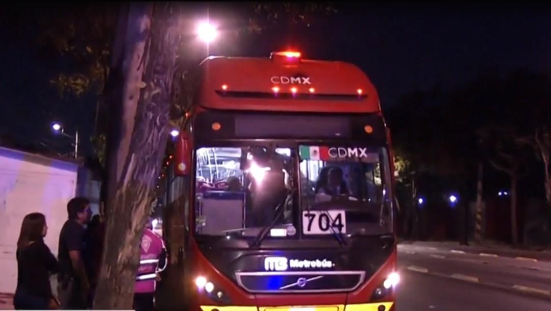 Foto: Lesionados en accidente de Metrobús esperaron dos horas para ser atendidos