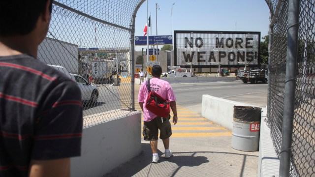 México y EEUU acuerdan 'retenes' para frenar tráfico de armas en frontera, 19 de diciembre de 2019, (Cuartoscuro, archivo)