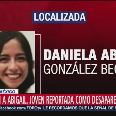 Localizan con vida a la joven Daniela Abigail González Becerril