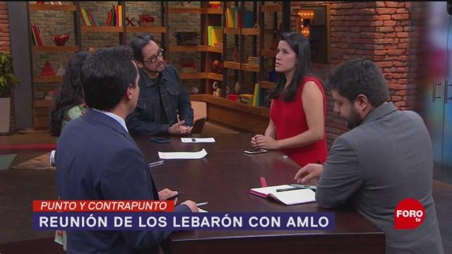 Foto: Familia Lebarón Palacio Nacional AMLO 3 Diciembre 2019