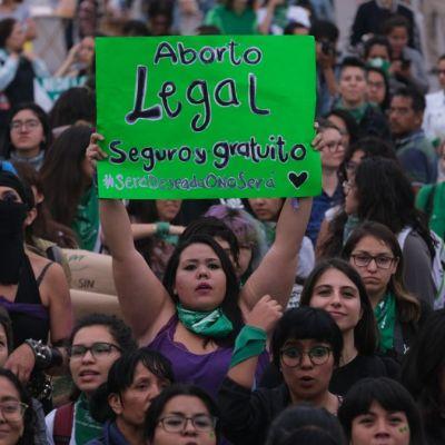 Marcha en favor del aborto